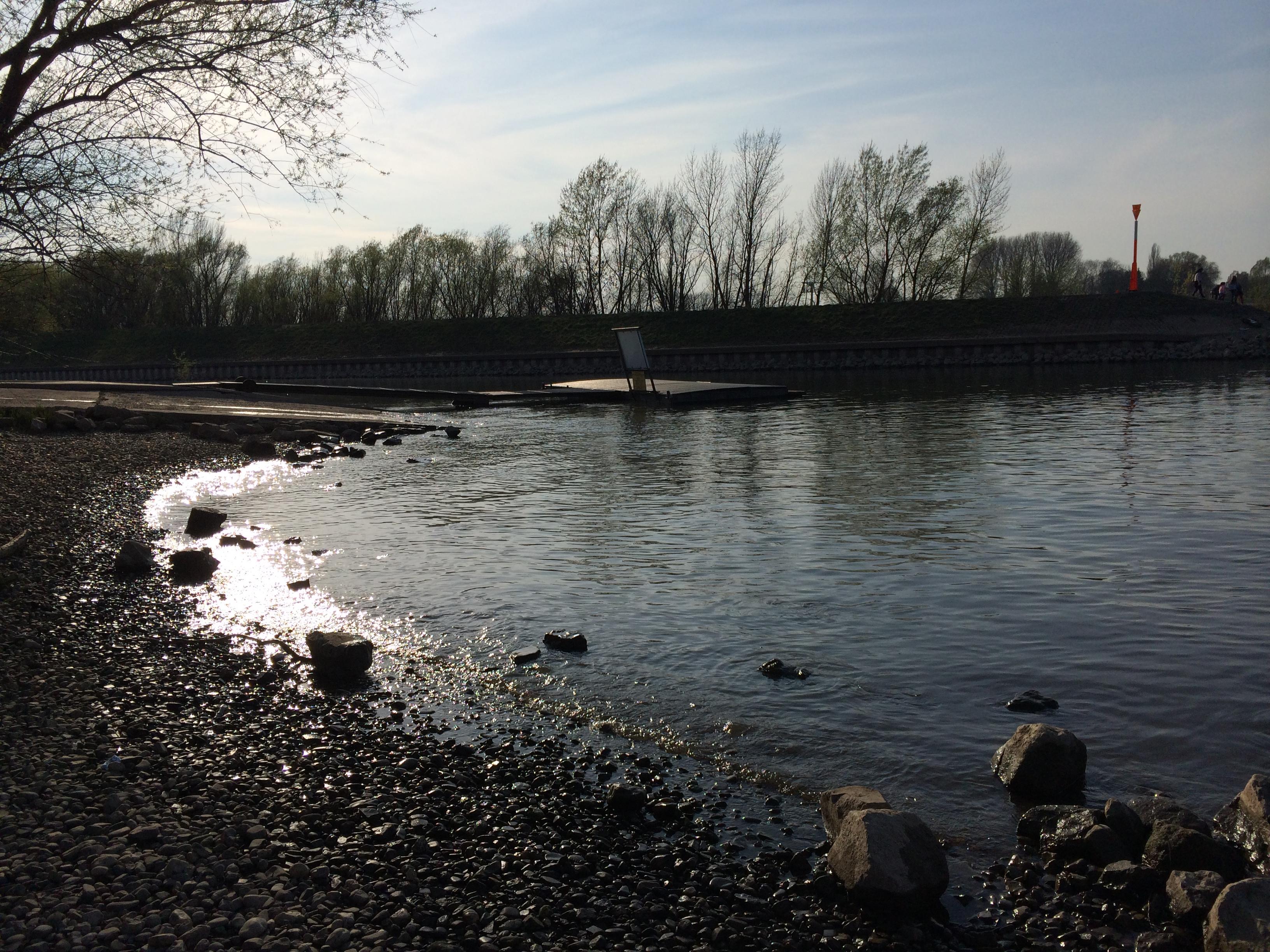 Private Slipstelle vom Club für Wassersport in Köln Porz