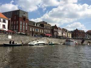 Bootsanleger in der Innenstadt von Roermond