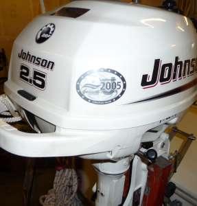 4 Takt Außenborder Johnson mit 2,5 PS