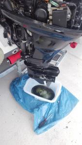 Mercury F15MH Öl ablassen