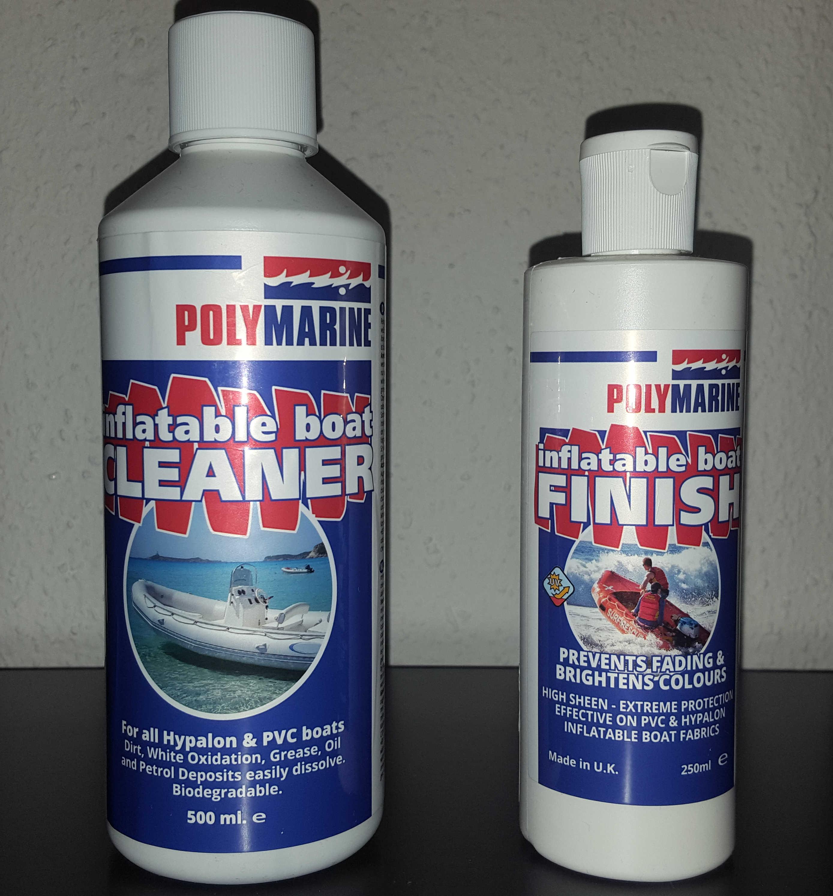 polymarine inflatable boat cleaner und finish sportboot. Black Bedroom Furniture Sets. Home Design Ideas