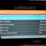 Lowrance MFD Geräteliste